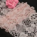 Fluffy Ribbons, Cloth, pink, 100cm  x 12cm (approximate), (HPB003)